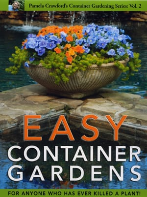 For more info (or to buy) her book about container gardening with decorative plants, click here.