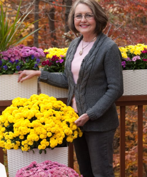 Click here for valuable video tips about buying plants for container garden (3:33).