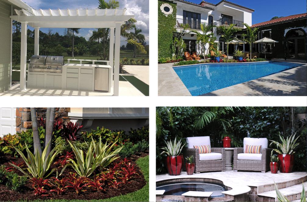 Landscape designer for pools Delray Beach